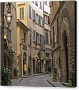 Afternoon In Florence Canvas Print by Michael Flood