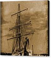 Age Of Sail Poster Canvas Print by John Malone Halifax photographer