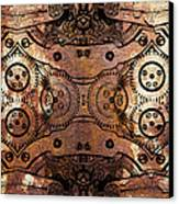Age Of The Machine 20130605rust Canvas Print by Wingsdomain Art and Photography