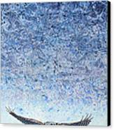 Ahead Of The Storm Canvas Print by James W Johnson