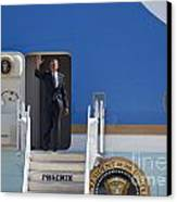Air Force One Canvas Print by Jim West
