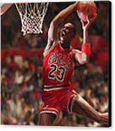 Air Jordan Canvas Print by Mark Spears