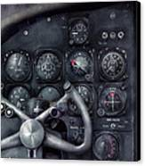 Air - The Cockpit Canvas Print by Mike Savad