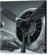 Airplane Propeller - 02 Canvas Print by Gregory Dyer