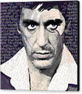 Al Pacino Again Canvas Print by Tony Rubino