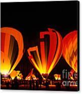 Albuquerque Balloon Festival Canvas Print by Mark Newman
