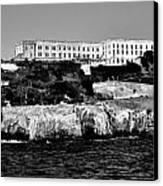 Alcatraz Federal Prison Canvas Print by Benjamin Yeager