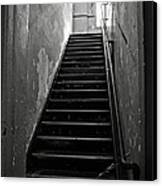 Alcatraz Hospital Stairs Canvas Print by RicardMN Photography