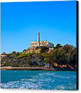 Alcatraz Island Canvas Print by James O Thompson