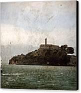 Alcatraz Island Canvas Print by RicardMN Photography