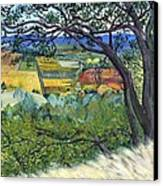 Alexander Valley Vinyards Canvas Print by Asha Carolyn Young