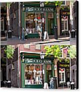 Alexandria Ice Cream Canvas Print by Mike Savad