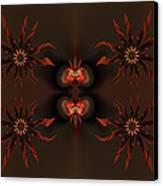 Algorithmic Flowers Canvas Print by Claude McCoy