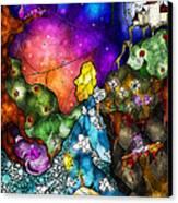 Alice's Wonderland Canvas Print by Mandie Manzano