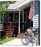 All American Driveway Canvas Print by Casey Barnett