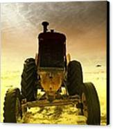 All The Feilds She Plowed Canvas Print by Jeff Swan