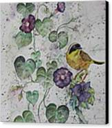 Almost Botanical Canvas Print by Patsy Sharpe