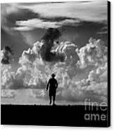 Alone Canvas Print by Stelios Kleanthous