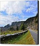Along The Highway Canvas Print by Susan Leggett