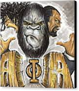 Alpha Phi Alpha Fraternity Inc Canvas Print by Tu-Kwon Thomas