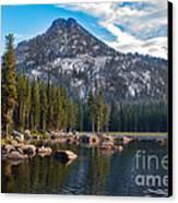 Alpine Beauty Canvas Print by Robert Bales