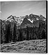 Alpspitze Till Zugspitze II Canvas Print by Hannes Cmarits
