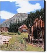 Alta In Colorado Canvas Print by Guido Borelli