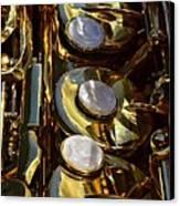 Alto Sax Reflections Canvas Print by Ken Smith