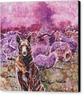 Always On Duty Canvas Print by Zaira Dzhaubaeva