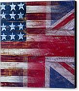 American British Flag Canvas Print by Garry Gay