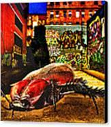 American Cockroach Canvas Print by Bob Orsillo