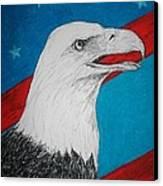 American Eagle Canvas Print by Maricay Smeenk