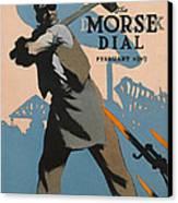 American Shipbuilder Canvas Print by Edward Hopper