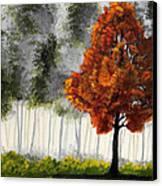 Among The Greens Canvas Print by Nirdesha Munasinghe