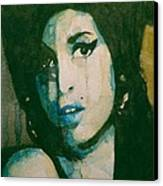 Amy Canvas Print by Paul Lovering