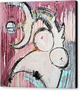 An Allegory Of Things Unknown 7 Canvas Print by Mark M  Mellon