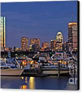 An Evening On The Charles Canvas Print by Joann Vitali