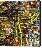 An Exercise In Yellow Canvas Print by Michael Kulick