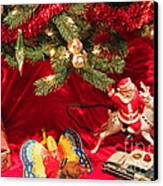 An Old Fashioned Christmas - Santa Claus Canvas Print by Suzanne Gaff