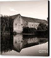 An Old Fortified Farm Canvas Print by Olivier Le Queinec