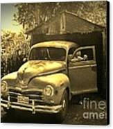 An Old Hidden Gem Canvas Print by John Malone