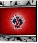 Anaheim Angels Canvas Print by Joe Hamilton