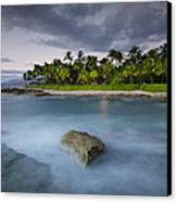 Anchor Of The Sea At Koolina Canvas Print by Tin Lung Chao