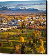 Anchorage Landscape Canvas Print by Inge Johnsson