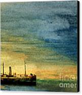 Anchorage Canvas Print by R Kyllo