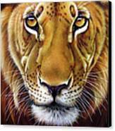 Andre Lion Canvas Print by Jurek Zamoyski