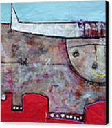 Animalia  Taurus 1 Canvas Print by Mark M  Mellon