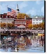 Annapolis Canvas Print by Guido Borelli