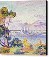 Antibes Afternoon Canvas Print by Henri Edmond Cross