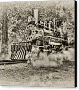 Antique Train Canvas Print by Bill Wakeley